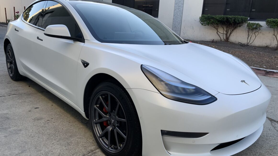Tesla Model 3 – XPEL Stealth Paint Protection Film